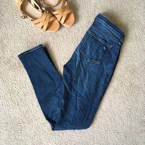 Rag & bone high rise skinny jeans size 27